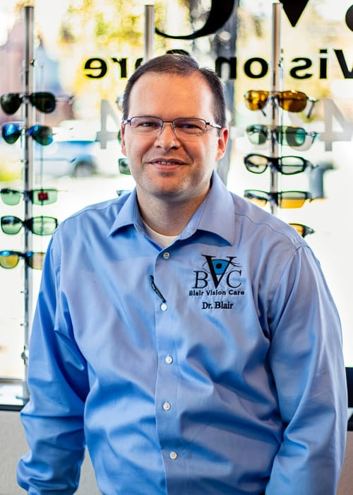 best eye doctor in colorado springs and canon city doctor nicholas blair